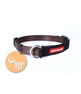 EzyDog Checkmate Collar, brown