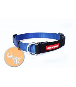 EzyDog Checkmate Collar, blue