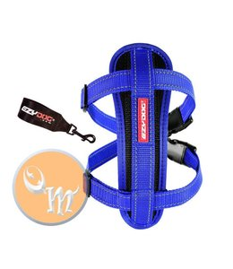 EzyDog Chest Plate harness, blue