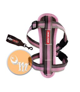 EzyDog Chest Plate harness, candy