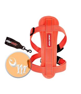 EzyDog Chest Plate harness, orange