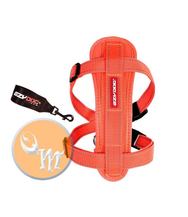 EzyDog EzyDog Chest Plate harness, orange