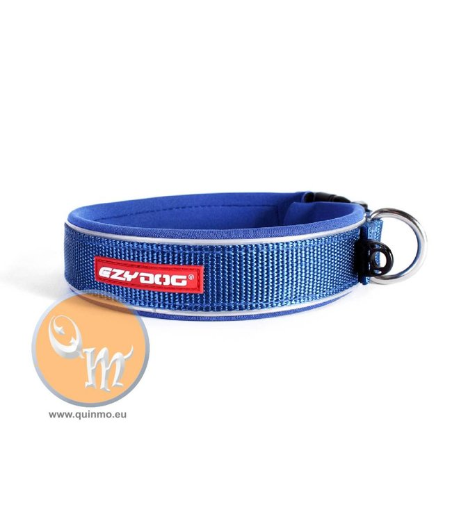 EzyDog classic neo dog collar, blue