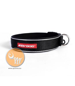 EzyDog Classic neo dog collar, black