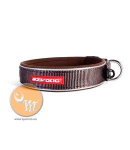 EzyDog classic neo collar, brown