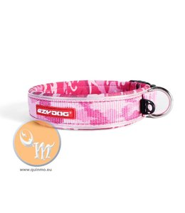 EzyDog classic neo halsband, pink camo