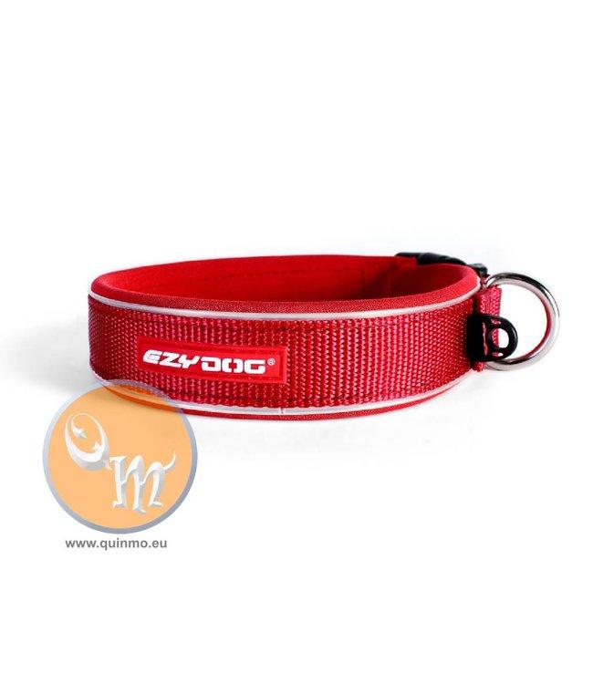 EzyDog classic neo halsband, rood