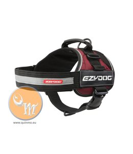 EzyDog Convert harness, red