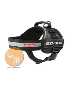 EzyDog Convert harness, black