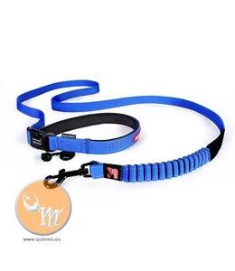EzyDog Road Runner Leash, blue
