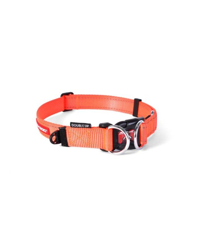 EzyDog EzyDog Double Up halsband, oranje
