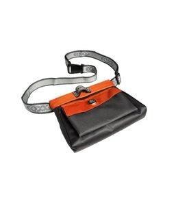 EQDOG Click'n Treat - Reward bag, gray / orange