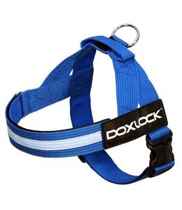 Doxlock Canine 2.0 Belt Harness, blue, Large