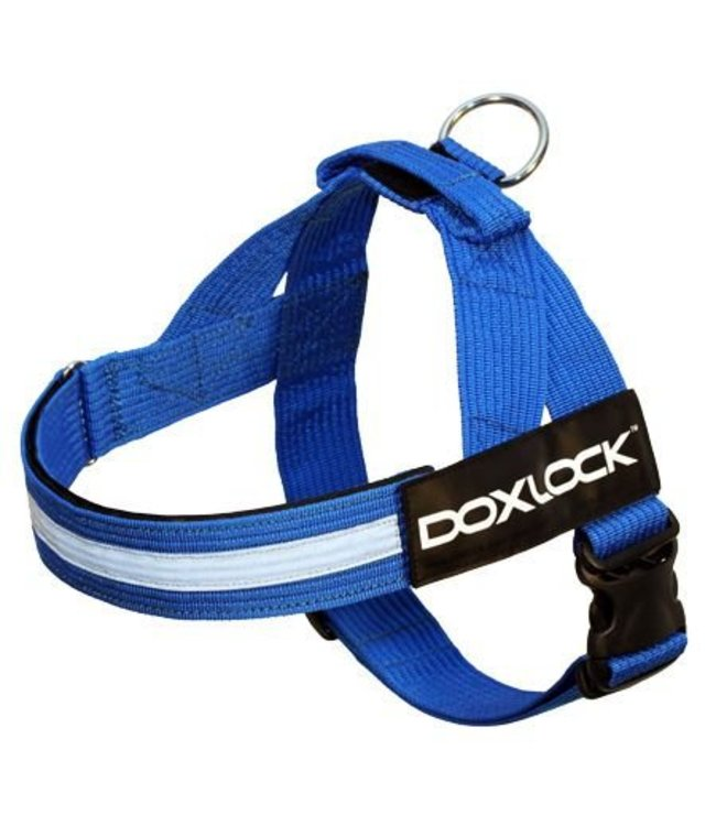 Doxlock Doxlock Canine 2.0 Belt Harness, blue, Large