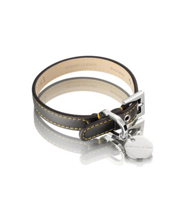 Hennessy and Sons Hennessy and Sons Sailor collar, black/yellow