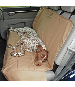 Petego rear seat protector, tan