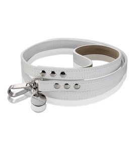 Hennessy and Sons Polo leash, white