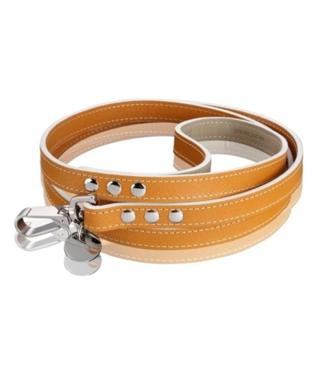 Hennessy and Sons Hennessy & Sons Saffiano leash Hermes Tan