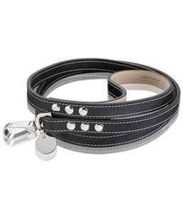 Hennessy and Sons Royal leash, black