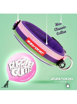 EzyDog classic neo collar, bubble gum