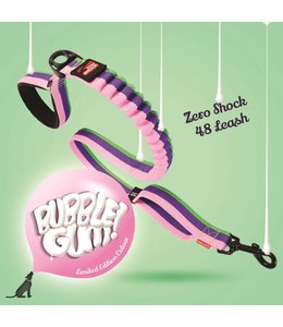 EzyDog EzyDog Zero Shock leash, Bubble Gum, 25mm x 120cm