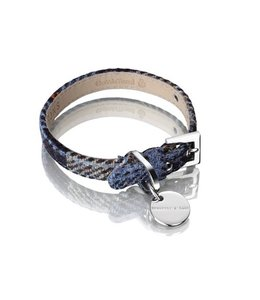 Hennessy and Sons Harris Tweed halsband, Mackenzie