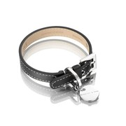 Hennessy and Sons Hennessy and Sons dog collar, Royal, black