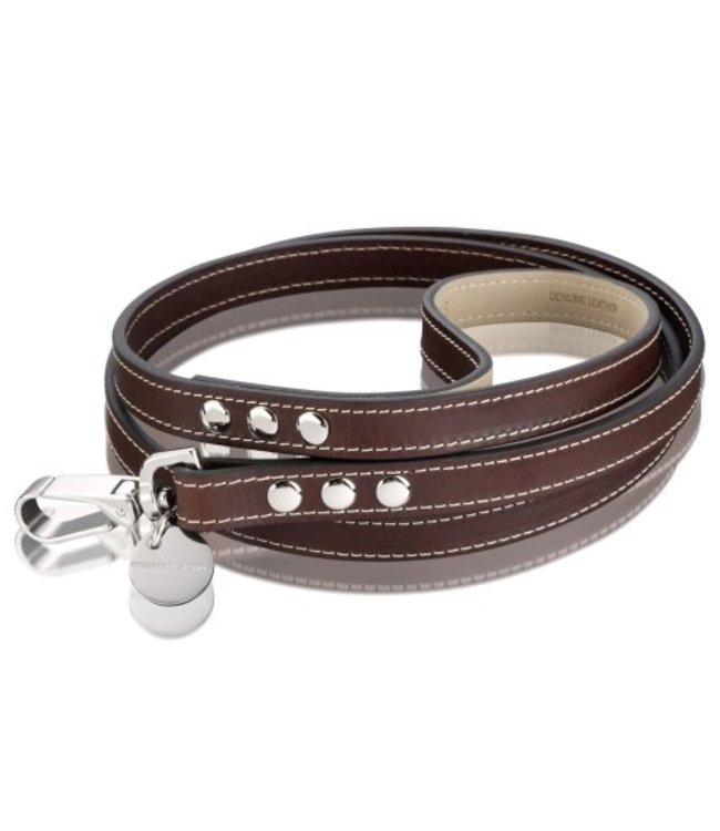 Hennessy and Sons Hennessy and Sons Royal leash, chocolate