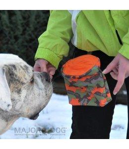 Major Dog Treat Bag, camo