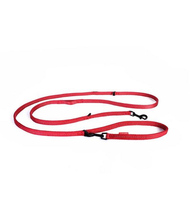 EzyDog EzyDog vario 6 LITE adjustable leash, red