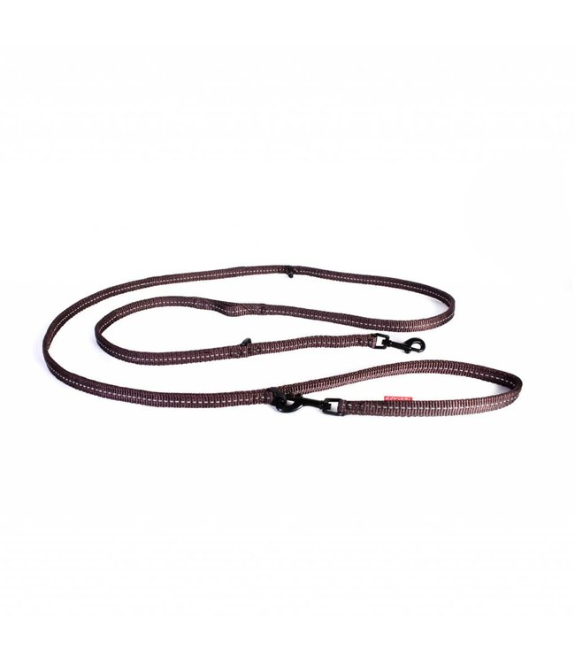 EzyDog EzyDog vario 6 LITE adjustable leash, brown