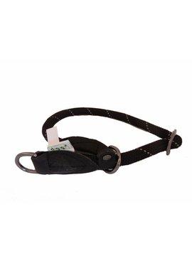 Dogogo nylon sliphalsband, zwart