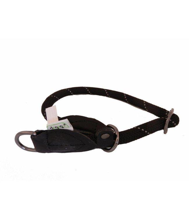 Dogogo Dogogo nylon slip collars, black