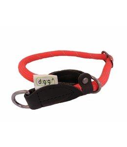 Dogogo nylon slip collar, red