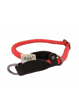 Dogogo nylon sliphalsband, rood
