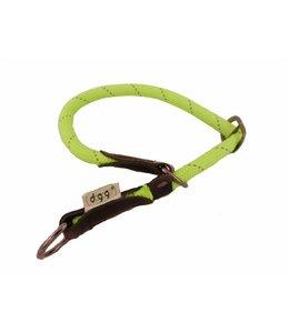Dogogo nylon slip collars, green