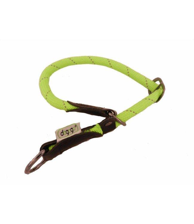 Dogogo Dogogo nylon slip collars, green