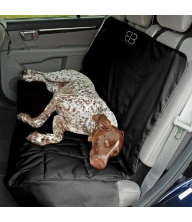 Petego Petego Rear seat protector, black