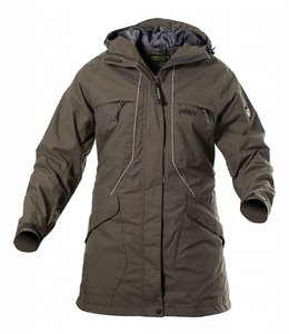 Owney Dames Parka Tuvaq, khaki