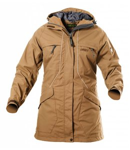 Owney Dames Parka Tuvaq, beige
