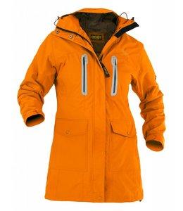 """Owney Owney long jacket """"Arnauti"""", new orange, Women"""