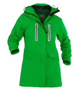 "Owney Owney long jacket ""Arnauti"", grass green, Women"