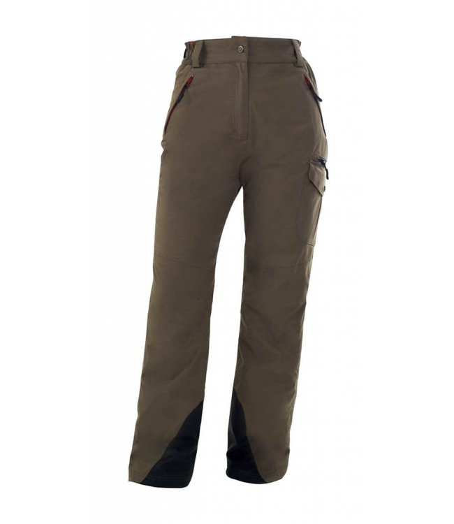 "Owney Women's outdoor winter pants, ""Amila"", khaki"