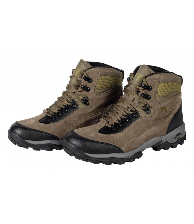 "Owney Owney outdoor boots ""Marshland"", brown-moos green"