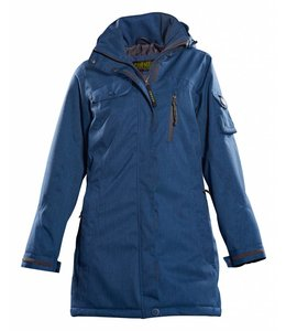 Owney Dames winter parka Arctic, blauw