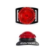 EzyDog Adventure Light, Red