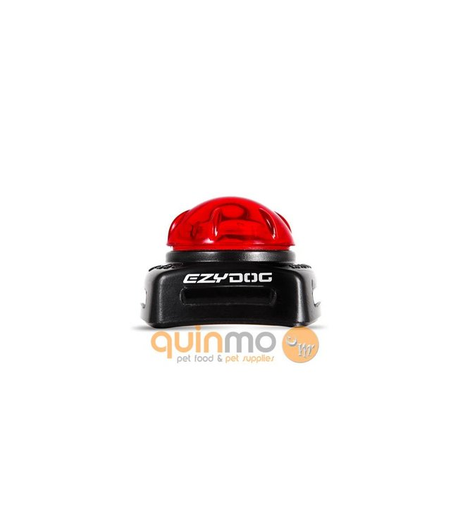 EzyDog EzyDog Adventure Micro Light, rood