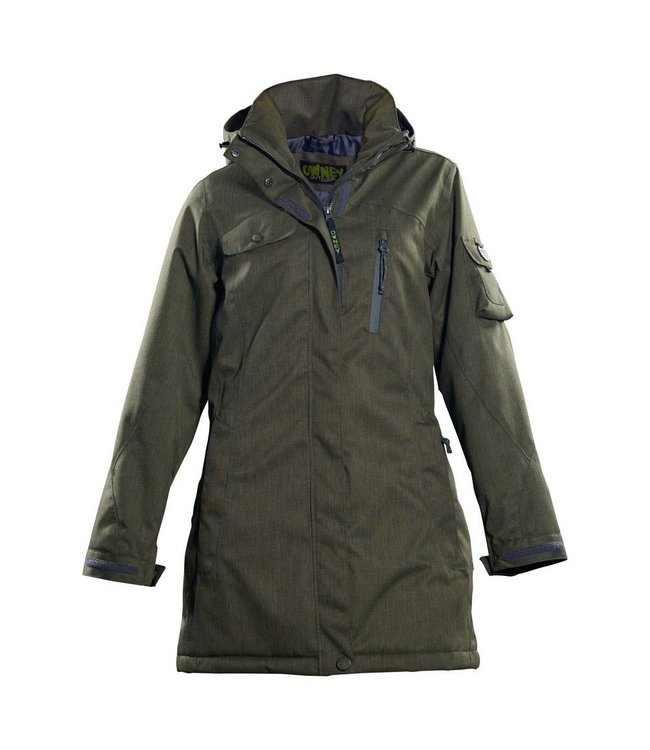 "Owney Owney woman winter parka ""Arctic"", olive"