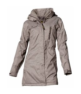 Owney Dames winter parka Arctic, licht bruin