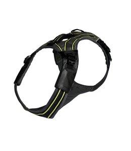 EQDOG Pro harness, black/green